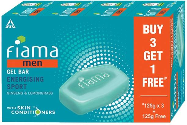 Fiama Men Men Gel Bar Energising Sport