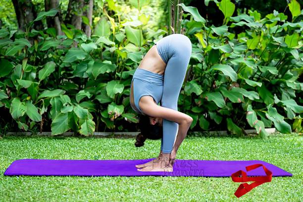 Fitness Mantra Yoga Mat Combo With Carrying Strap Purple 6 mm Yoga Mat