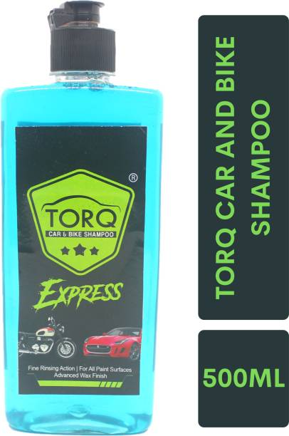 Torq EXPRESS CAR AND BIKE SHAMPOO BLUE 500 ML Car Washing Liquid