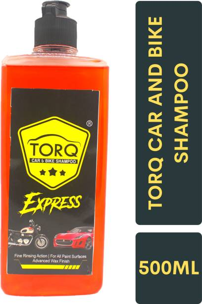Torq EXPRESS CAR AND BIKE SHAMPOO ORANGE 500ML Car Washing Liquid
