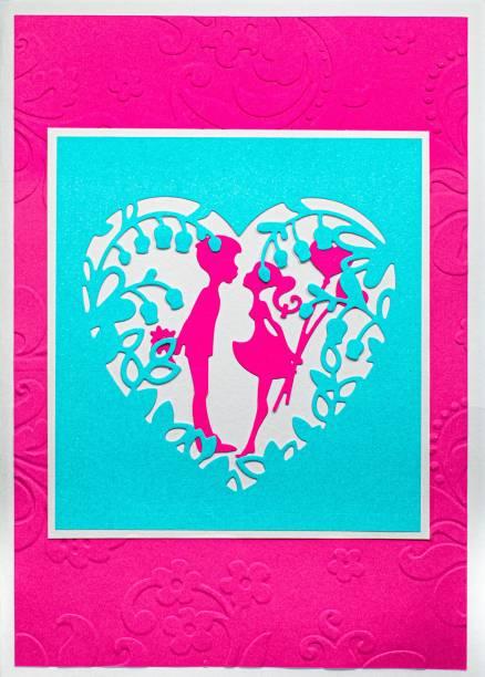 AanyaCentric Handmade Lover Boyfriend Girlfriend Husband Wife Greeting Card