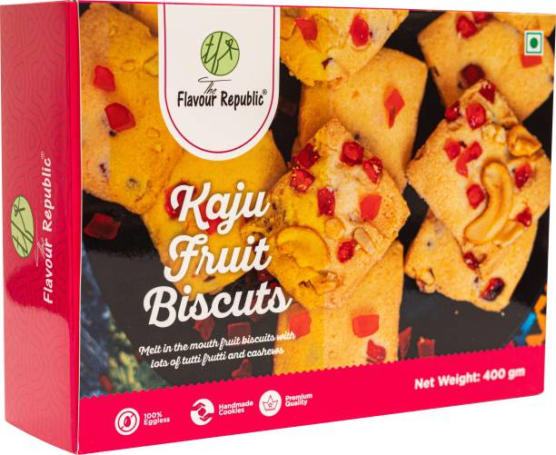 The Flavour Republic Kaju Fruit Biscuits/Cookies