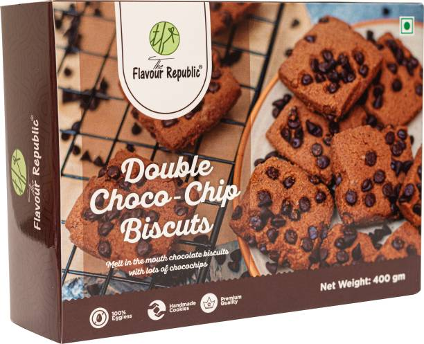 The Flavour Republic Double Choco Chip Biscuits
