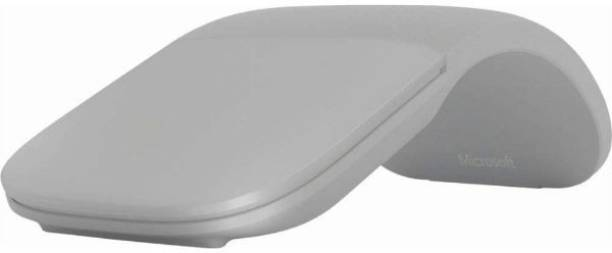 MICROSOFT FHD-00001 Surface Arc Mouse Light Grey, Gray Wired Optical Mouse