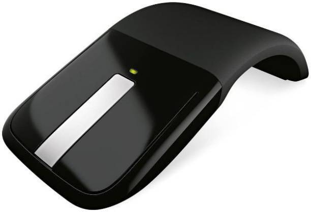 MICROSOFT Arc Touch Mouse - Black Wireless Touch Mouse