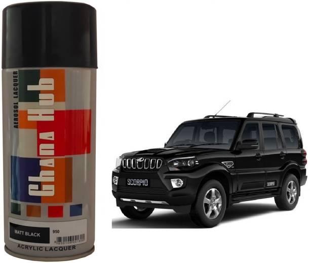 GHANA HUB PREMIUM CUBE SINGLE MATT BLACK Spray Paint 450 ml