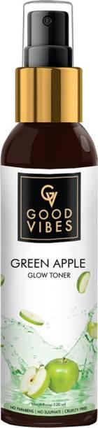GOOD VIBES Green Apple Toner Men & Women