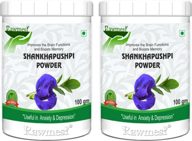 Rawmest Ayurvedic Shankhpushpi Powder (Convolvulus pluricaulis)