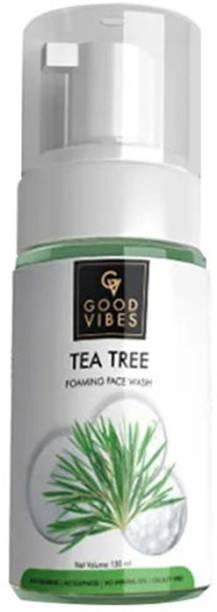 GOOD VIBES Foaming  - Tea Tree Face Wash