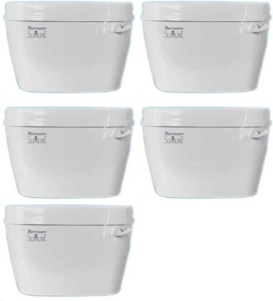 Parryware Uno Single Flush Tank set of 5 pic Single Flush Tank