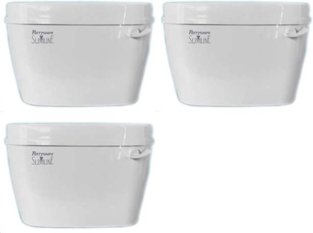 Parryware Uno Single Flush Tank set of 3 pic Single Flush Tank