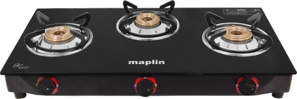 Maplin by Maplin MAP-GS3B-20 Steel Manual Gas Stove