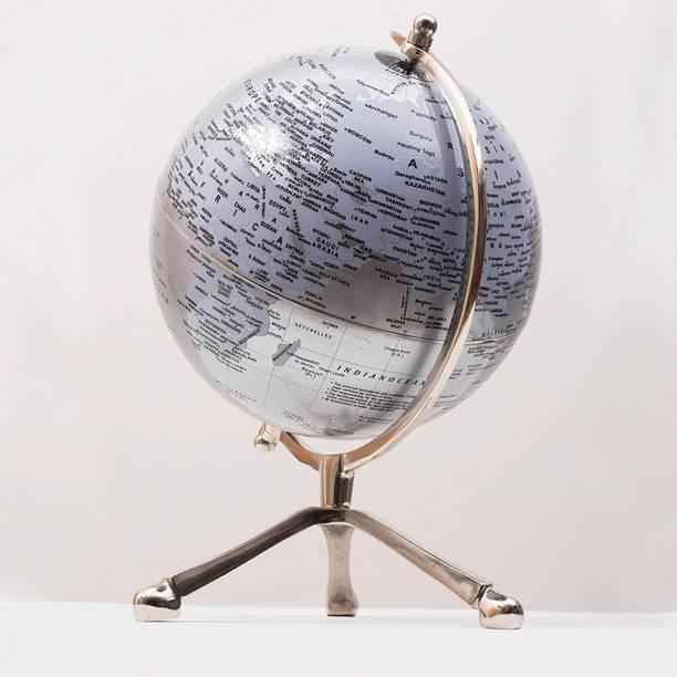 CASA DECOR GLB Study Round World Globe