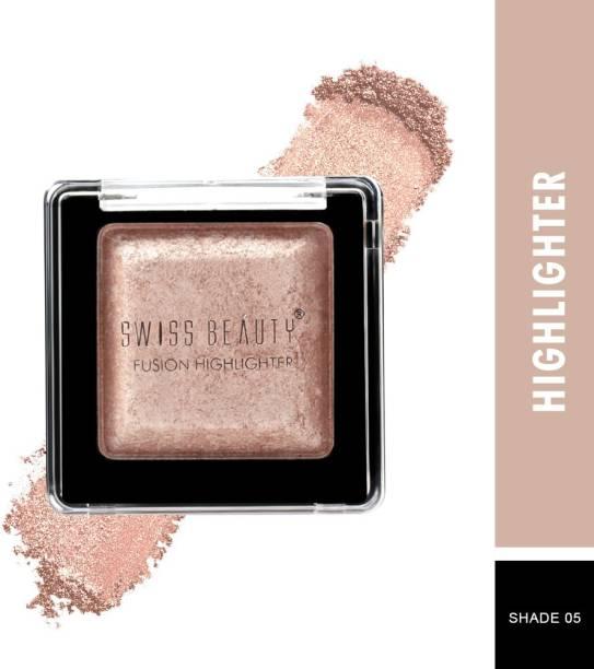 SWISS BEAUTY Fusion Highlighter, Face Makeup, Shade-05 ,6 gm Highlighter