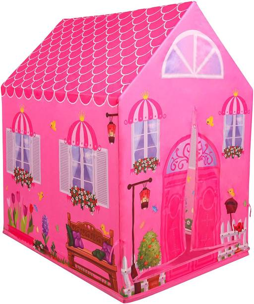 MSM ZONE Doll Play Tent Playhouse | Kid Play Tent Children Playhouse Indoor Outdoor Toy Play House for Boy Girl 2 3 4 5 Years Old Perfect for Birthday Gift, Christmas