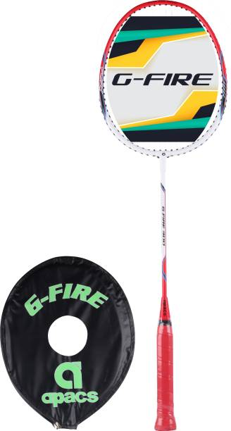 apacs G-Fire 300 Red, White Strung Badminton Racquet