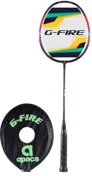 apacs G-Fire 200 Black, Red Strung Badminton Racquet