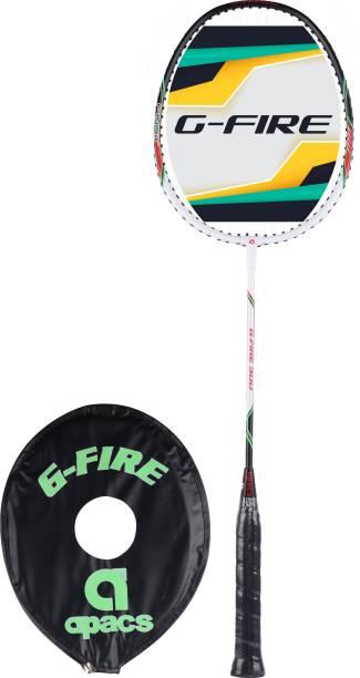 apacs G-Fire 300 Green, White Strung Badminton Racquet