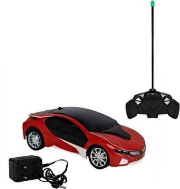 Boan Boan C 3D Light Famous Chargeable, Wireless Remote Control High Speed Racing Car (Cool Birthday Gift & Toy for Kids, Baby Boy & Girl)