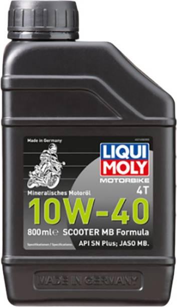 Liqui Moly 21458 4T 10W-40 API SN Plus JASO MB Full-Synthetic Engine Oil