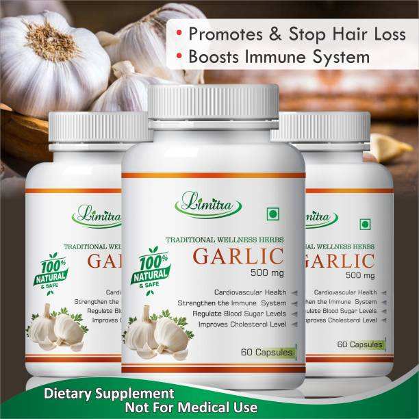 Limitra Garlic ,Manage Immiune System & Regulates Blood