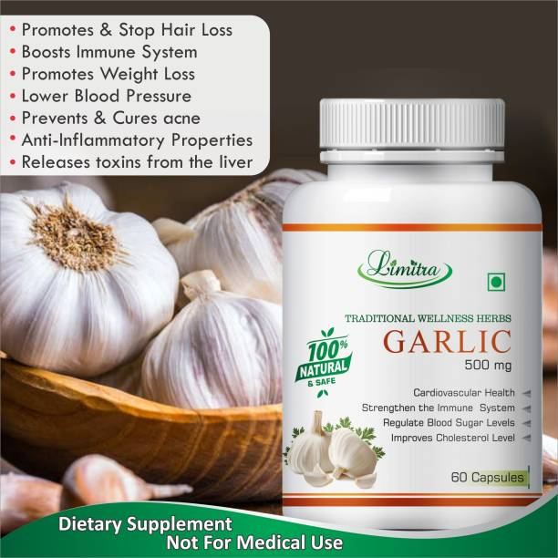 Limitra Garlic, For Regulate Blood Sugar Level 100% Natural