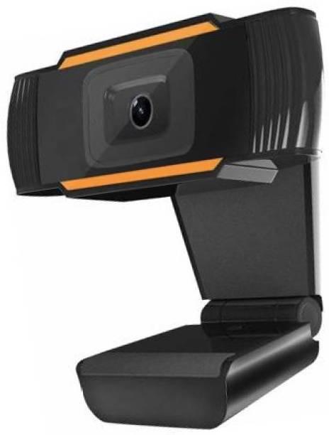 MEMOTA Webcam with inbuilt microphone hd 720p web camera for online classes video call.  Webcam