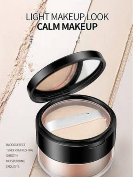 THTC Ultra fine powder provides a finish with mineralize loose powder  Compact