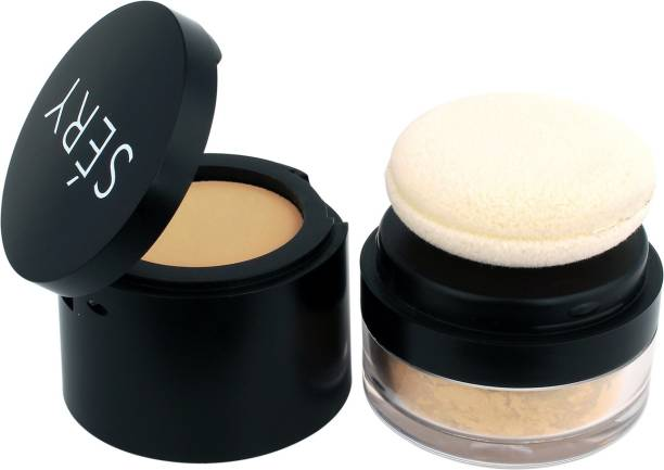 SERY Fix 'n' Click HD Compact & Finishing Powder Compact