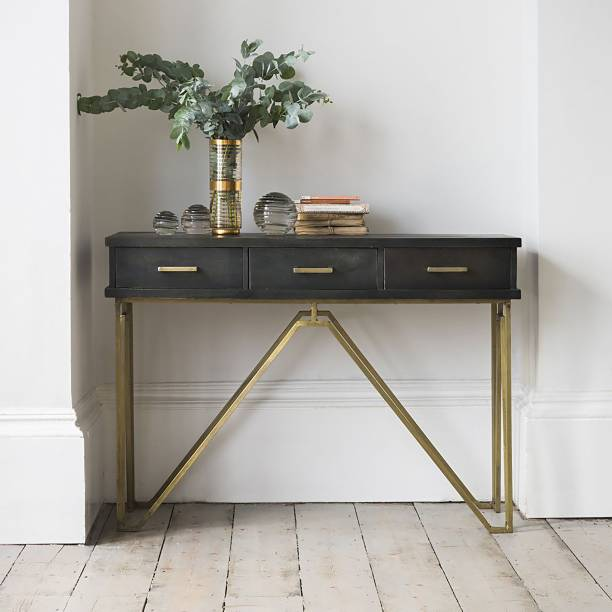 Area Canis Engineered Wood Console Table