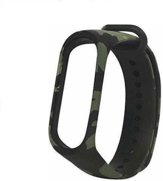 Tdoc Premium Quality Replacement Strap for Edition Strap Military Green Camouflage|Military Army Style Smart Band Strap Smart Watch Strap