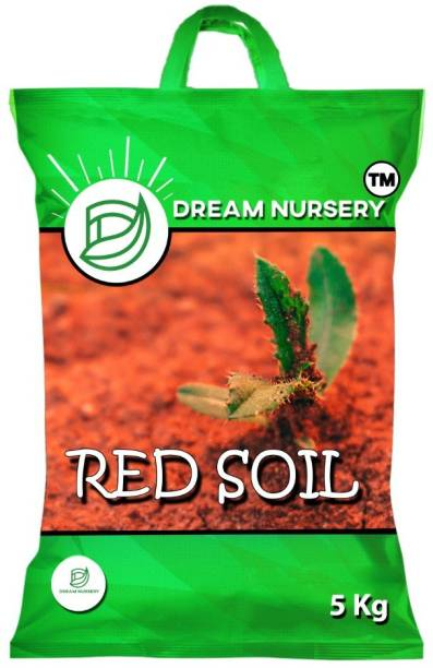 CACTUS VARIETIES enriched red Soil - 5 Kg Natural Garden Organic Red Soil for Plants and Gardening Soil
