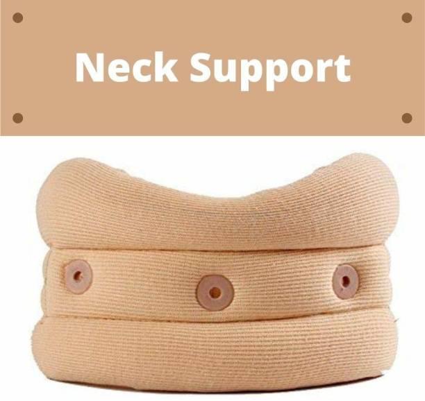 AASH ISURGICAL Cervical Collar Soft Neck belt Neck Support (Beige) Neck Support