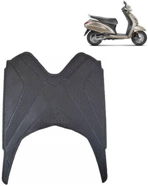 Ramanta Washable Floor Mat for Honda Activa 5G (1 PC, Black) Honda Activa 5G Two Wheeler Mat