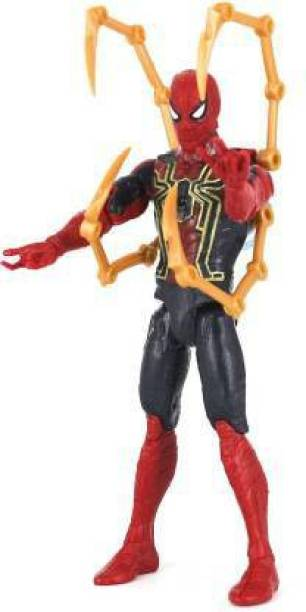 TinyTales Iron Spiderman Avengers Action Figures , Avengers Toys Set 6 Inch Superheros Collection(Red)