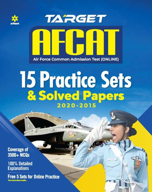 Afcat 15 Practice Sets and Solved Papers 2021