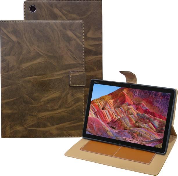 TGK Flip Cover for Huawei MediaPad M5 Lite 10-Inch Tablet 2018 Release