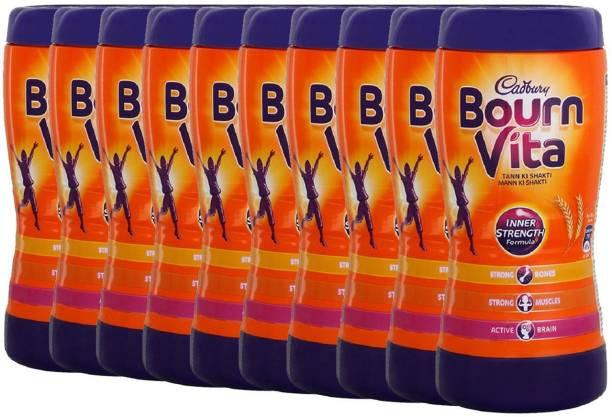 Cadbury Bournvita Inner Strength 200 Gm (Pack of 10) Energy Drink