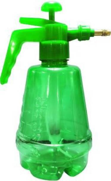 Muddstyles Green 1.5 Litre Garden Agriculture Spray Pump Atomizer Kunfun Compression Pressure Sprayer + Adjustable Brass Nozzle for Mist & Spray + High Quality Pet Plastic Water Bottle 1.5 L Hand Held Sprayer