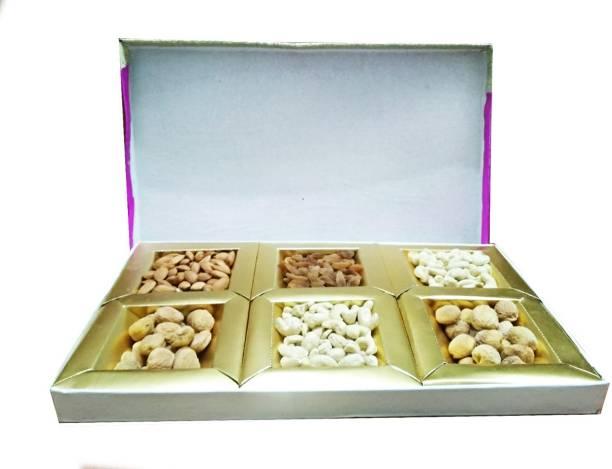 Craft India Diwali gift box of 900 Dry fruits/ /Hamper/Anniversery gift/Birthday gift/Dry fruit combo Cashews, Almonds, Apricots, Raisins
