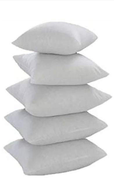 Neetu Traders Cotton Solid Cushion Pack of 5