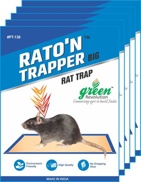 Green Revolution Mouse Glue Trap Big Pack of 5 Live Trap