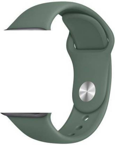 Tempus Watch Strap Silicone Belt 44mm Compatible with All Watch Smartwatch Sports Band Green Smart Watch Strap
