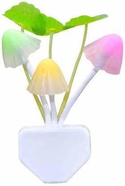 TurboFlex Mushroom Lamp Automatic Sensor Light Multi-Color Changing Best Night Avatar LED Bulbs Wall Lights Lamp Shade