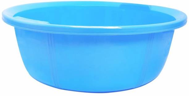 Wonder Plastic Tub 13, 1 Pc, Blue Color, Made in India, KBS01856 10 L Plastic Bucket
