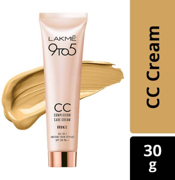 Lakmé 9 to 5 Complexion Care Face Cream - Bronze Foundation