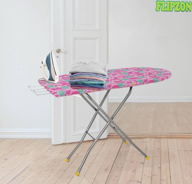 FLIPZON Self Standing Multi Color 18 Inch Ironing Board (Color And Design of Cloth Will Different) Ironing Board Ironing Board