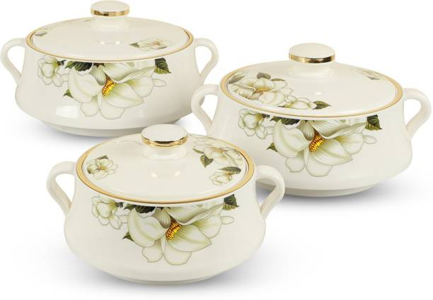 Muchmore Insulated Casserole Pack of 3 Thermoware Casserole Set