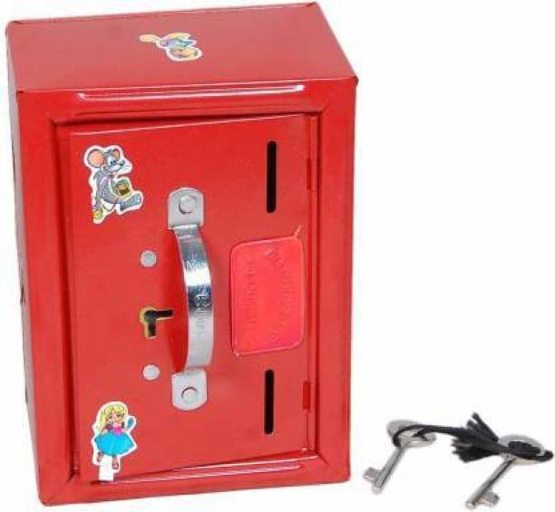 CADDLE & TOES Coins Bank aka Iron gullak no Worries for Damage for The Shop use Home use for Saving Money for kids toy Coin Bank