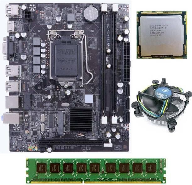 ZEBRONICS H55-COMBO-KIT-4GB Motherboard